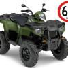 TRAKTORI POLARIS 570 EFI 60km/h GREEN